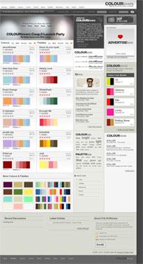 Länk till webbsida med färgkoder