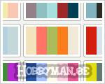 Svårt att hitta färgkombinationer som är snygga?