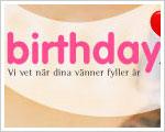 birthday.se kommer ihåg dina födelsedagar
