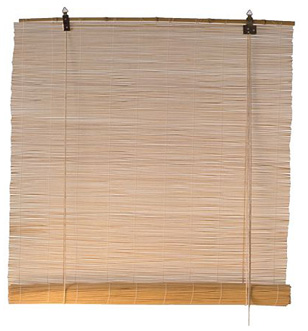 Ikeas bambugardin utan     motiv