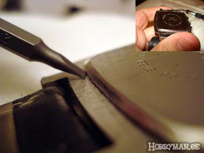 byta batteri i klocka själv