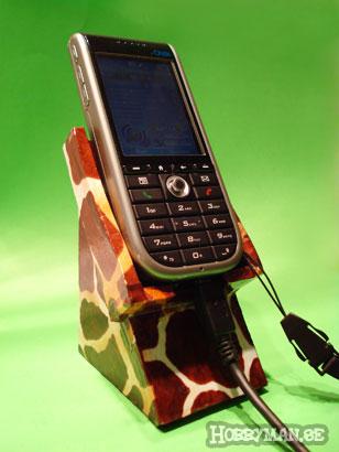 Mobilstället är förvandlat