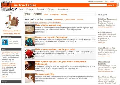 Hobbyman på instructables.com