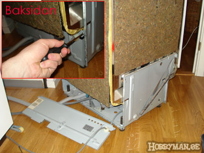 Reparera din trasiga diskmaskin sjlv hobbyman ppna diskmaskinen p baksidan publicscrutiny Choice Image