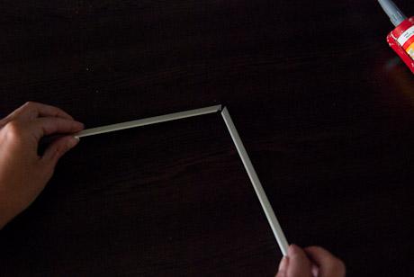 Aluminiumlisternas passform testas