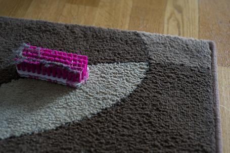 Ren nyborstad matta